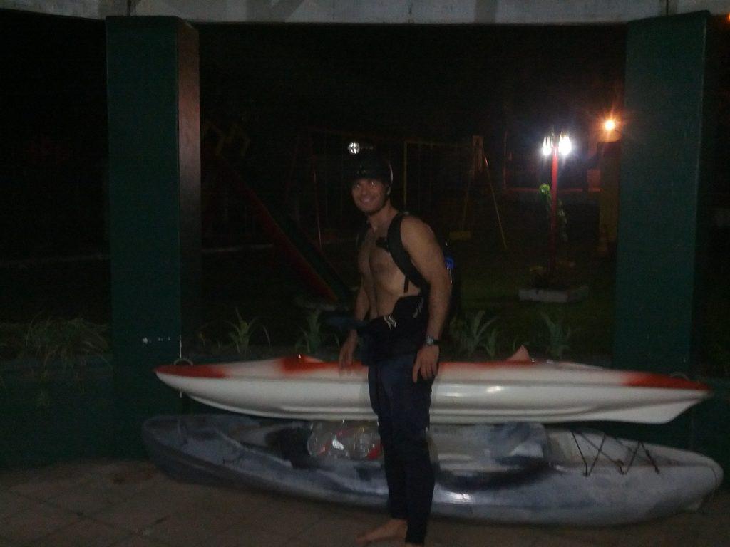 8º Evento - Treinamento Teórico e Prático em Kayatrekking (Trekking + Kayaking).