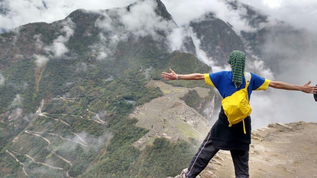 Topo da montanha de Waynapicchu