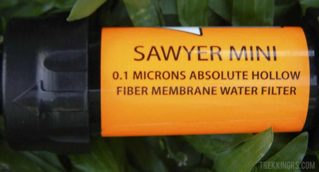 Mini Sawyer - Water filter