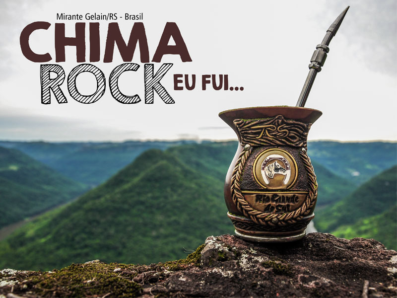 Chima Rock no Mirante Gelain