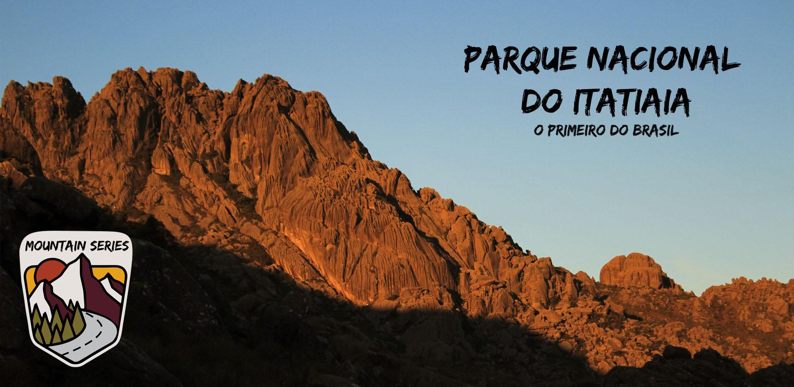 O primeiro Parque Nacional do Brasil
