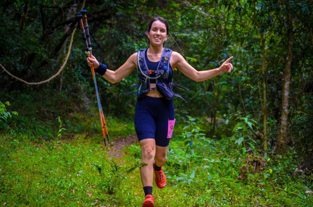 Atleta Jasmine Benato - Curtlo BR, Patos do Sul, Salomon