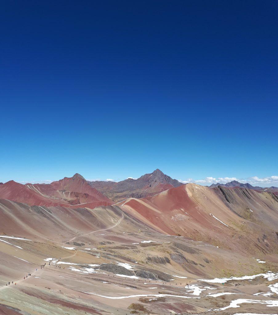 Montanha das Sete Cores vista do topo